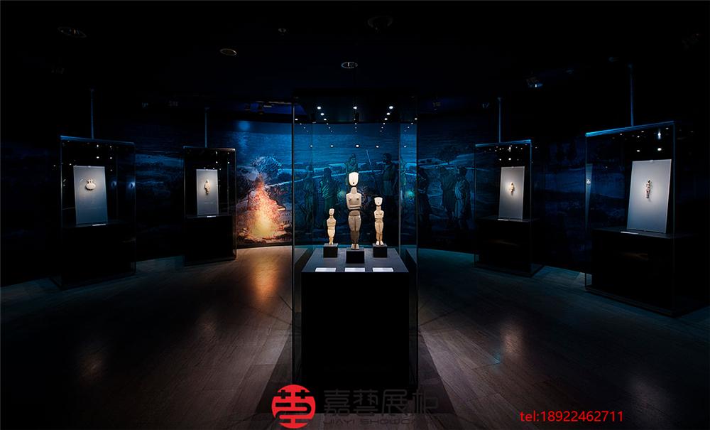 为什么博物馆灯光很暗沉—博物馆展柜定制须知