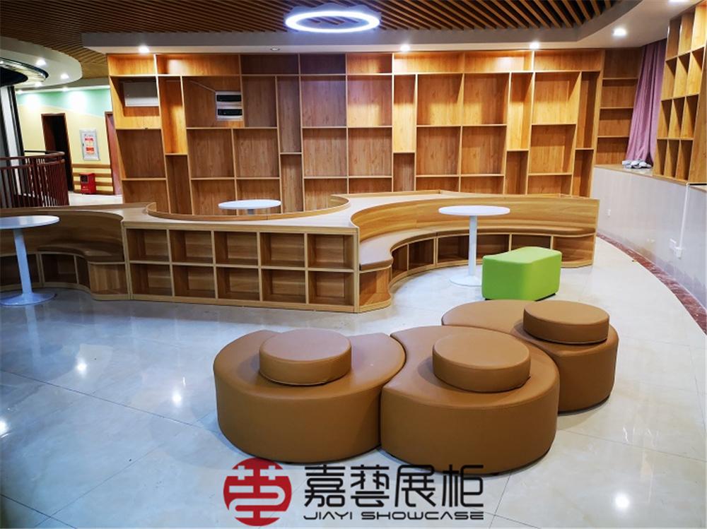 学校图书馆展示书籍专用书架定制