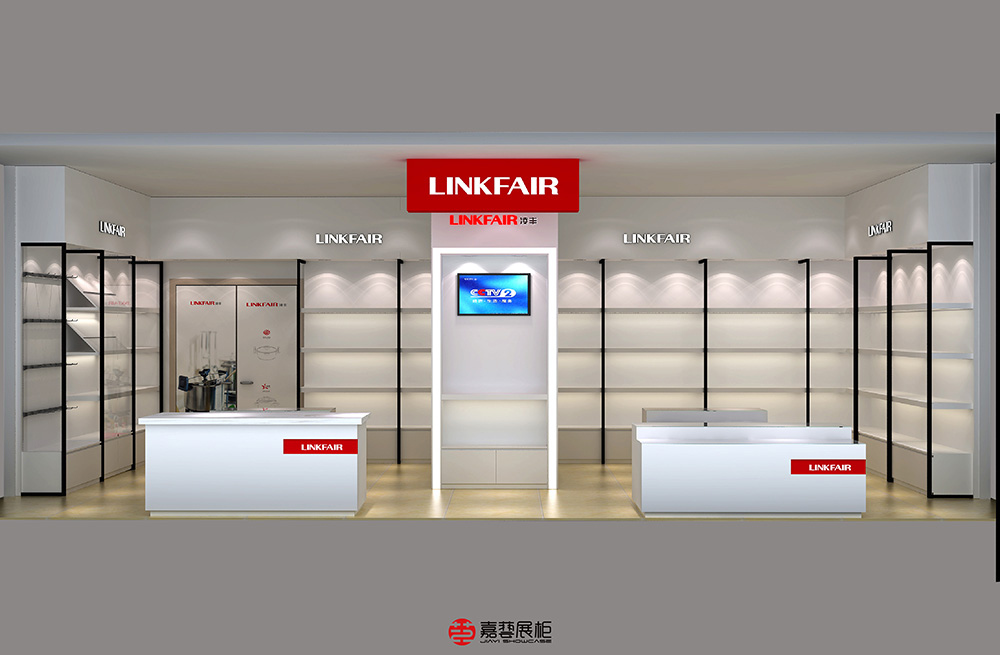 LINKFAIR  凌丰厨具-展柜案例