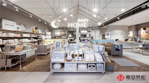 Baby Home—品牌母婴店展柜 成都店—母婴店展柜案例