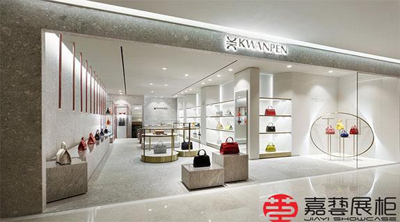 KWANPEN—皮具展柜品牌 深圳店—皮具展柜案例