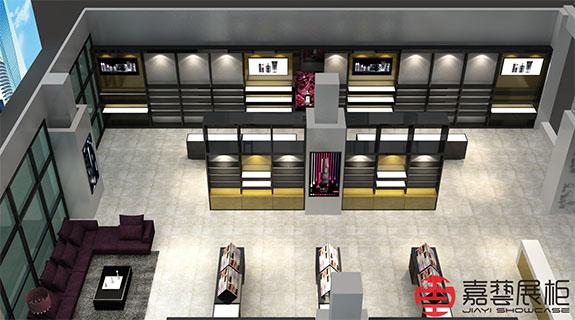 ASSUR—化妆品展柜成都店—化妆品展柜案例