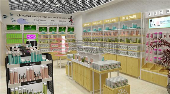 化妆品集合店—展柜定制