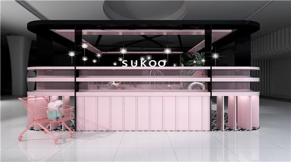 SUKOO  中庭促销展台定制
