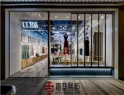展柜设计制作公司对商场的视觉营销有怎样的见解?【嘉艺】告诉您