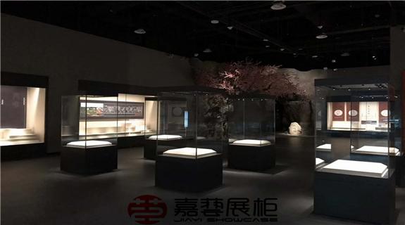 舟曲县民俗博物馆 博物馆展柜定制案例