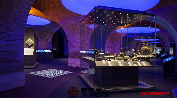 土耳其伊斯坦布尔-Seljuks赛尔朱克斯展览馆 博物馆展柜定制案例